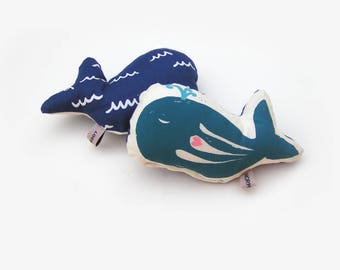 Baby rattle , whale fish Otto