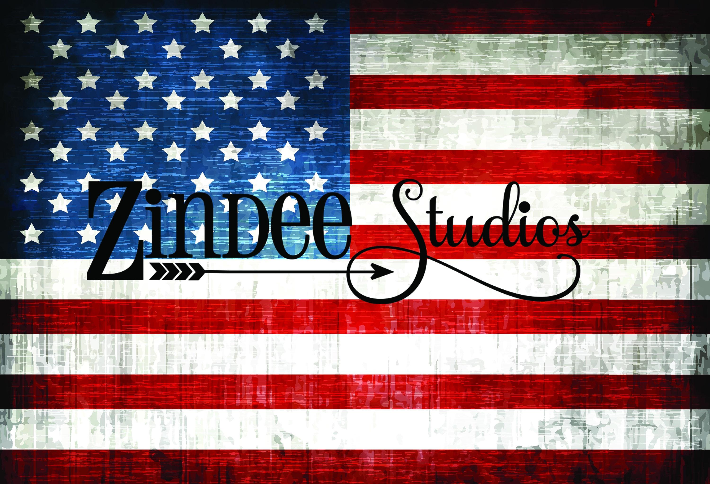 American Flag Grunge Printed Vinyl Adhesive Vinyl Heat