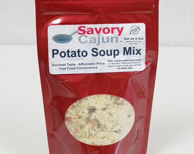Cajun Potato Soup Mix Quick Meal