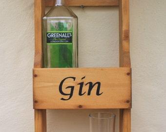 Rustic Gin Rack