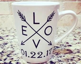 Wedding Coffee Mug Favors