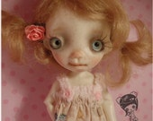 Juju'Full set doll ,with new tinny  body ,collectible BJD' resin OOAK, by Chrishanthi ''Ppinkydolls''