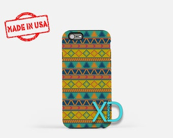 Tribal Phone Case, Tribal iPhone Case, Hippie iPhone 7 Case, Blue, HIppie iPhone 6 Case, Tribal Tough Case, Clear Case, Bohemian, Triangle