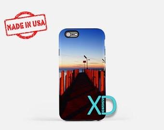 Ocean Jetty iPhone Case,  Dock iPhone Case, Ocean iPhone 8 Case,  Beach, iPhone 6s Case, iPhone 7 Case, Phone Case, iPhone X Case, SE Case