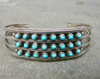 Turquoise Snake Eye Jewelry, Silver Turquoise Cuff, Turquoise Bracelet Vintage, Zuni Jewelry, Native American Turquoise Bracelets, Snake Eye