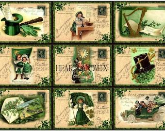 SAVE St. Patrick's Day Digital Download Printable Nine Different Images SAVE
