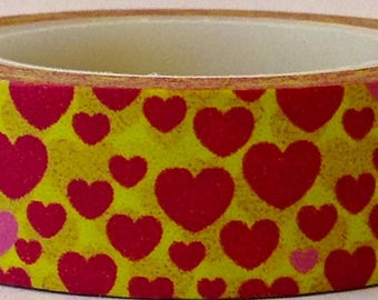 "SALE Washi Tape ""Sunny Love"" 15mm x 10 Meters"