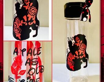 Beauty and the Beast Disney Belle Tumbler Water Bottle Tritan