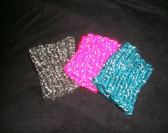 3 Reflective Arm Bands for Joggers Walkers Outside Activities after Dark.    Glow in the Dark