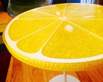 Lemon Slice Table by Carl Chaffee Circa 1970