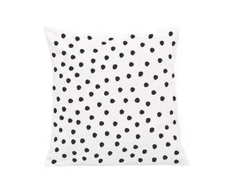 Small pillowcase Dalmatian dots