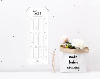 Wall calendars 2017