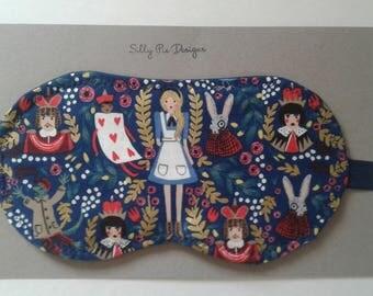 Wonderland Riffle Paper Co Sleep Mask, Cotton and Steel