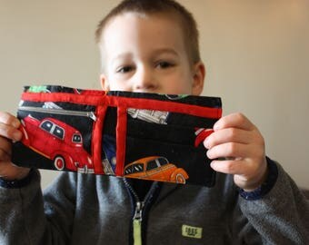 My First Wallet - Toddler Child Boys Girls Bifold Wallet