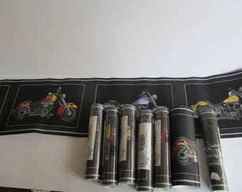 Vintage Wallpaper Boarder Motorcycle Wall decor Motorcycle Boarder Harley Davidson Wall art Man Cave Decor Boys Room Decor
