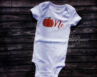 Little Pumpkin First Birthday Outfit- First Birthday Outfit- 1st Birthday Outfit- Pumpkin Birthday- 1st Birthday- One- Halloween Birthday