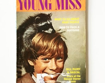 Vintage Young Miss YM Magazine September 1969