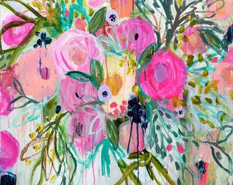 11x14 Print--Rose Burst