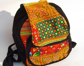 Rucksack....Hand Woven Material ...Backpack