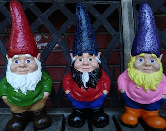 Create your own Garden Gnome Statue
