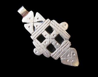 Ethiopian Coptic Cross Pendant : Ethiopia Jewelry Beads