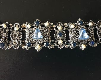 Vintage Bracelet with Matching Earrings