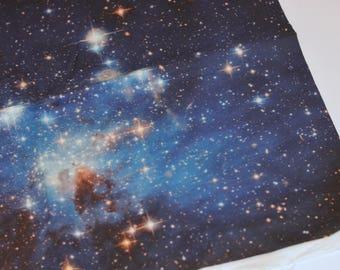 Galaxy Print Cotton Fabric
