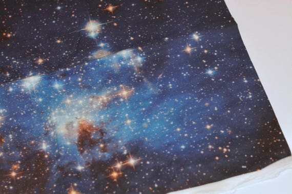 Galaxy print cotton fabric from galaxygarments on etsy studio for Galaxy headliner material