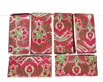 Vera Neumann Table Cloth and Napkin Set (6)
