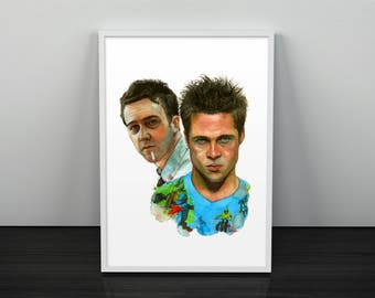 Fight Club - Tyler Durden A3 Giclee Limited Edition print