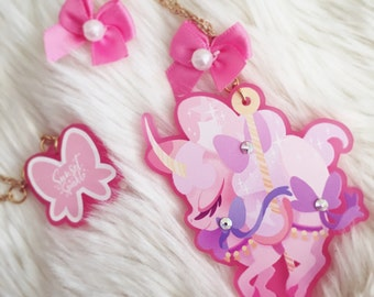Fairy Kei Kirin Necklace