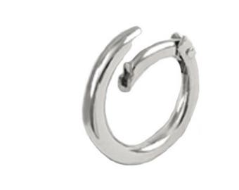 Free Shipping - Nickel Gate Ring,  Safety Ring, Nickel Safety Ring, 1 inch Safety Ring Set of 2, 4 or 10