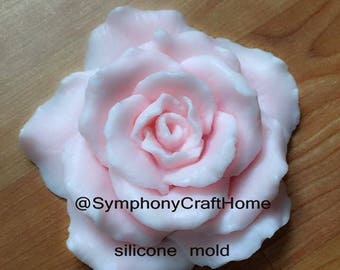 3D rose mold, blooming rose mold, silicone rose mold,#rosemold, silicone soap mold, wax mold, candle mold, polymer clay mold, resin mold