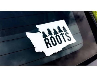Love Your Roots Decal- Car Decal- Any State sticker- Roots Decal