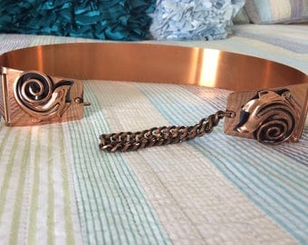 Vintage Copper Belt