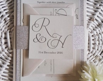 Glitter – Handmade Wedding Invitation's UK