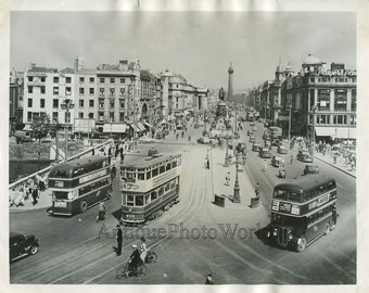 Dublin Ireland O'Connell street vintage photo