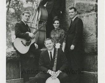Jazz folk music band The New Wine Singers vintage photo