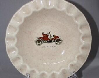Vintage Royal China, Inc. USA Autocar Runabout 1902 Ashtray/ Trinket Dish