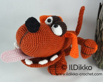 Amigurumi Crochet Pattern - The Dogster