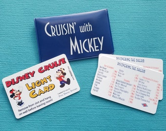Disney Cruise Light Card®  and Deck Locator Gift Sets - Great Fish Extender Gift for Disney Cruise - Grand Slam Gift