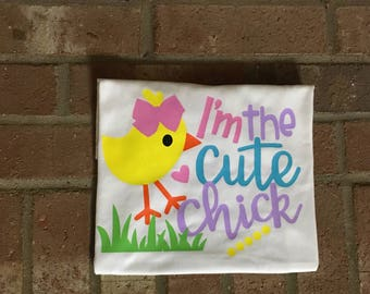 Cute Chick//Easter Shirt