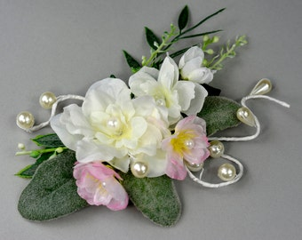 Flower Hair Clip Wedding Accessory Bridal Fascinator Bridal Hair Girl Clip