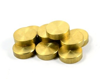 5 Pcs. Solid Raw Brass 4x15 mm Round Bar Findings