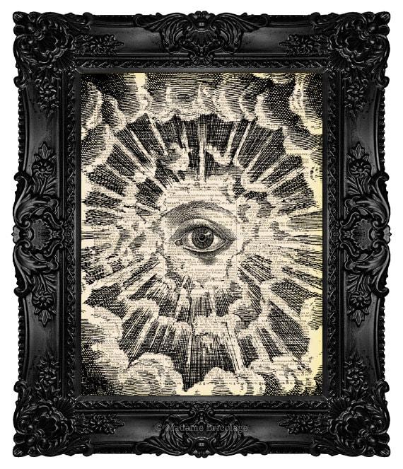 All Seeing Eye Illuminati Christian Tattoo Dictionary Art