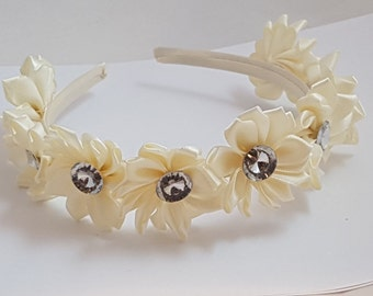 Alice Bands, Flowergirl Hair Bands, Bridesmaids Hair Bands ,Wedding Accessories, Flower Hair Accessories, Hair Accessories