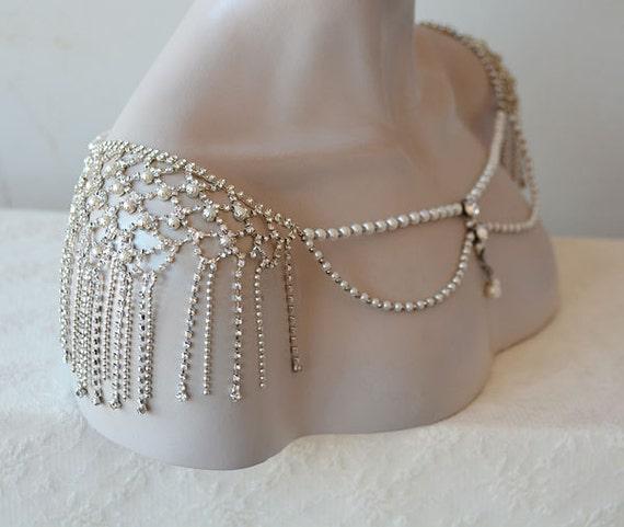 wedding shoulder jewelry bridal shoulder necklace wedding
