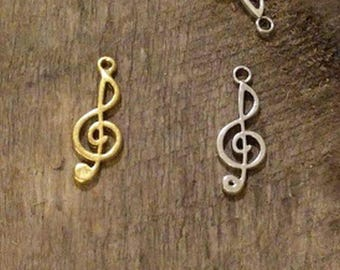 Musical Charms Treble Clef