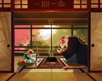 Tea Ceremony  - 11 x 17