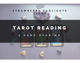 3 Card Tarot Reading!